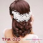 Aksesoris Sanggul Pesta Pengantin Modern l Tiara Rambut Wedding-TPM020 4
