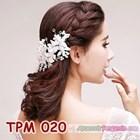 Aksesoris Sanggul Pesta Pengantin Modern l Tiara Rambut Wedding-TPM020 3