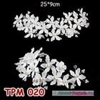 Aksesoris Sanggul Pesta Pengantin Modern l Tiara Rambut Wedding-TPM020 2