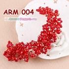 Aksesoris Rambut Sanggul l Headpiece Pesta Mutiara Merah Wanita-ARM004 4