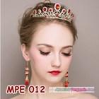 Mahkota Wanita Wedding Merah Wanita l Aksesoris Rambut Pengantin-MPE 012 1