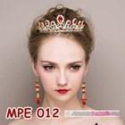 Mahkota Wanita Wedding Merah Wanita l Aksesoris Rambut Pengantin-MPE 012 7