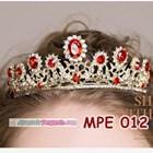 Mahkota Wanita Wedding Merah Wanita l Aksesoris Rambut Pengantin-MPE 012 5