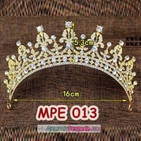 Beli Mahkota Pesta Pengantin Emas l Aksesoris Rambut Wedding Wanita-MPE 013 4