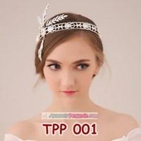 Distributor Aksesoris Tiara Pesta Pengantin l Hiasan Sanggul Rambut Ratu - TPP001 3