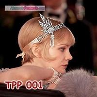 Jual Aksesoris Tiara Pesta Pengantin l Hiasan Sanggul Rambut Ratu - TPP001 2