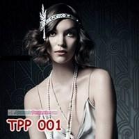 Beli Aksesoris Tiara Pesta Pengantin l Hiasan Sanggul Rambut Ratu - TPP001 4