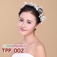Jual Aksesoris Pesta Pengantin Wanita l Tiara Rambut Pesta Wedding -TPP 002 2