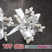Distributor Aksesoris Pesta Pengantin Wanita l Tiara Rambut Pesta Wedding -TPP 002 3