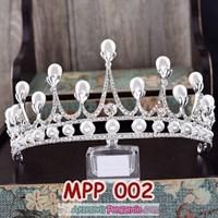 Aksesoris Crown Rambut Pesta Pengantin l Mahkota Wedding Wanita-MPP002 1
