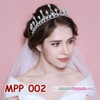 Distributor Aksesoris Crown Rambut Pesta Pengantin l Mahkota Wedding Wanita-MPP002 3