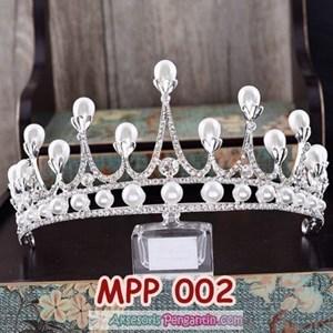 Aksesoris Crown Rambut Pesta Pengantin l Mahkota Wedding Wanita-MPP002