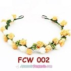 Flower Crown Pesta Pengantin Wanita l Mahkota Bunga Wedding - FCW 002 5