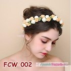 Flower Crown Pesta Pengantin Wanita l Mahkota Bunga Wedding - FCW 002 3