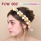 Flower Crown Pesta Pengantin Wanita l Mahkota Bunga Wedding - FCW 002 1