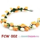 Flower Crown Pesta Pengantin Wanita l Mahkota Bunga Wedding - FCW 002 4
