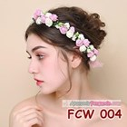 Aksesoris Flower Crown Pesta Wanita l Mahkota Bunga Wedding - FCW 004 1