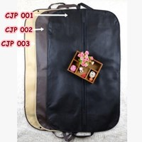 Distributor Cover Bungkus Pelindung Jaket Jas Pesta dari Debu Kotoran Black - CJP 001 3