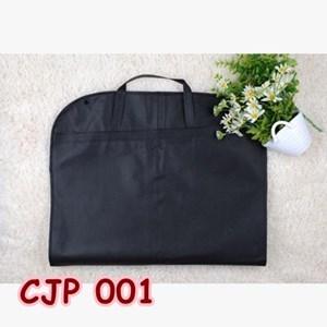 Cover Bungkus Pelindung Jaket Jas Pesta dari Debu Kotoran Black - CJP 001