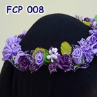 Flower Crown Pesta Ungu Pengantin l Mahkota Bunga Wedding - FCP 008 3