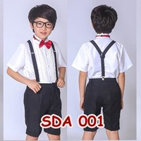 Jual Suspender Pesta Hitam Anak Aksesoris Baju Bretel SDA 001 2