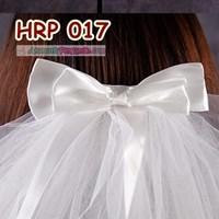 Distributor Aksesoris Slayer Pengantin Wanita 4 Layer l Slayer Veil Wedding- HRP 017 3