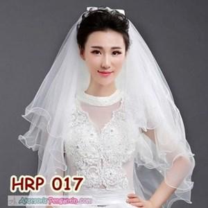 Aksesoris Slayer Pengantin Wanita 4 Layer l Slayer Veil Wedding- HRP 017