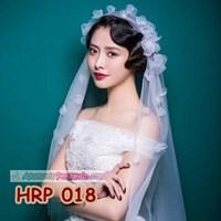 Aksesoris Kerudung Veil Pengantin Wanita- Slayer Wedding Modern-  HRP 018