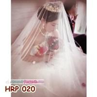 Aksesoris Kerudung Veil Pengantin Wanita l Slayer Wedding- HRP 020