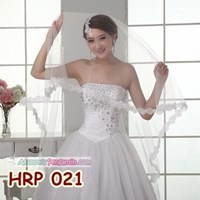 Beli Slayer Pengantin Payet Panjang l Kerudung Rambut Wedding Modern- HRP 021 4