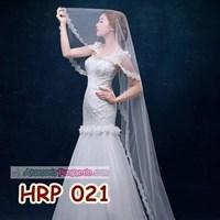 Distributor Slayer Pengantin Payet Panjang l Kerudung Rambut Wedding Modern- HRP 021 3