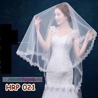 Jual Slayer Pengantin Payet Panjang l Kerudung Rambut Wedding Modern- HRP 021 2