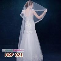 Slayer Pengantin Payet Panjang l Kerudung Rambut Wedding Modern- HRP 021 1