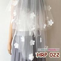 Jual Kerudung Pernikahan Pengantin Modern Slayer Veil Wedding Modern  HRP 022 2