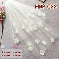 Distributor Kerudung Pernikahan Pengantin Modern Slayer Veil Wedding Modern  HRP 022 3
