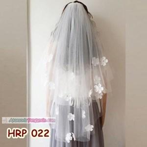 Kerudung Pernikahan Pengantin Modern Slayer Veil Wedding Modern  HRP 022