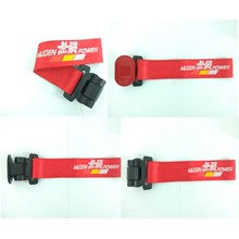 Dummy Towing Strap MUGEN MERAH - Towing Hook Stylish Universal - Towing Strep - Towing Racing