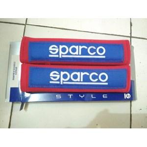 Seatbelt Pad Merah Biru Racing Sport - Seat Belt Sparco Universal