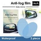 Anti Fog Film For Side - Rear Mirror Anti Embun Spion Mobil 14 X 9 Cm Lonjong 1