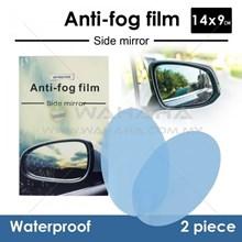 Anti Fog Film For Side - Rear Mirror Anti Embun Sp