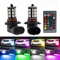 Beli LED Foglamp H11 RGB 27 TITIK - LED RGB Fog lamp H 11 REMOTE 5050 SMD 4