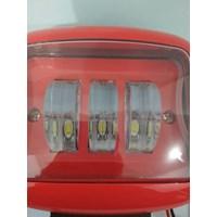 Jual Lampu Tembak LED Sorot KOTAK - Led LENS Gun Tube Kotak MOBIL MOTOR 2