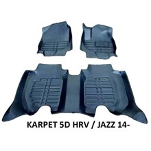 Karpet 5D Mobil HRV / Jazz GK5 2014 Karpet Mobil Eksclusif 5D Premium