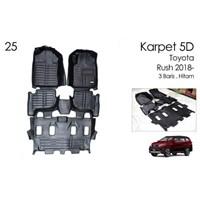 Karpet 5D Mobil All New Rush 2018 - Karpet Mobil Eksclusif 5D Premium