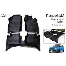Karpet 5D Mobil Suzuki Ignis 2017 - Karpet Mobil Eksclusif 5D Premium