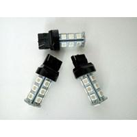 Lampu LED T20 2 KAKI 18 titik Sein - LED Send 18 mata - LED T20