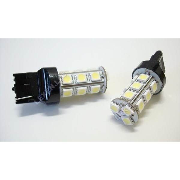 Lampu LED T20 2 KAKI 18 titik Sein - LED Send 18 mata - LED T20