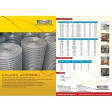 Wiremesh/ kawat loket galvanis ukuran 4 mm