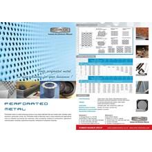 Perforated metal 0.8 mm 1x2 lob 0.8 mm