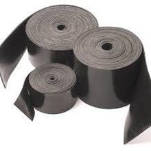 Rubber skriting strip